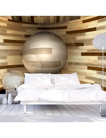 Papier peint - Orbite de bois A1-XXLNEW011131