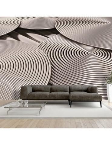 Papier peint - Copper Spirals A1-XXLNEW011506