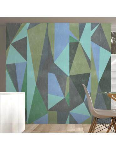 Papier peint - Triangles gris A1-WSR10m196
