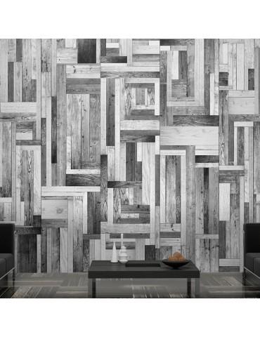 Papier peint - Gray labyrinth A1-WSR10m216