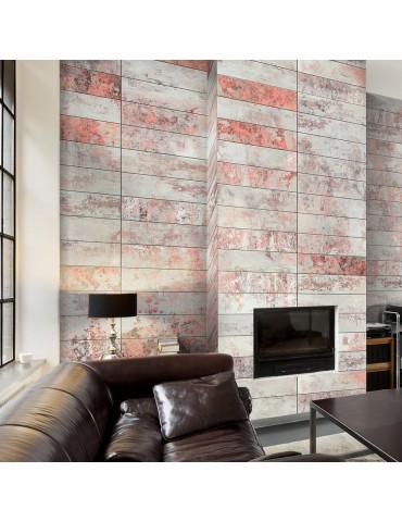 Papier peint - Orange marble A1-WSR10m400-P