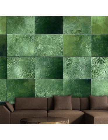 Papier peint - Green Puzzle A1-WSR10m611