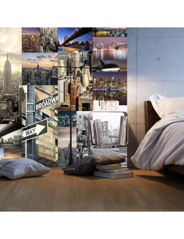 Papier peint - Streets of New York A1-WSR10m625