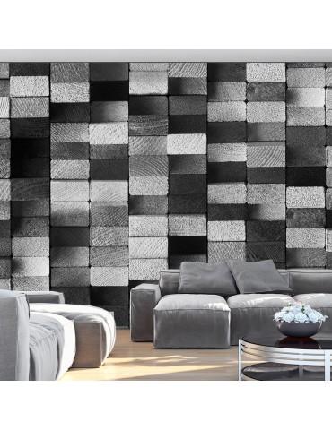 Papier peint - Ebony Mosaic A1-WSR10mm621