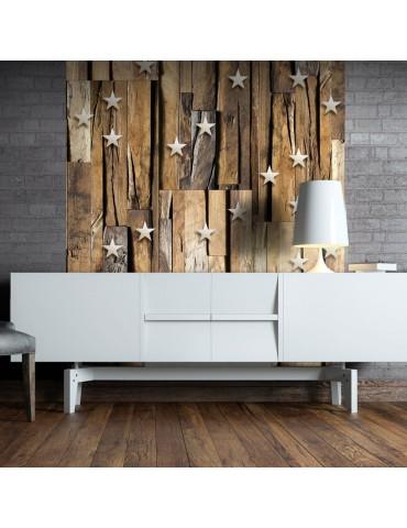 Papier peint - Wooden Constellation A1-WSR10m680-P