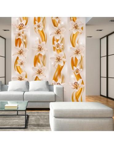 Papier peint - Flower Plaits A1-WSR10m718-P