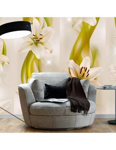 Papier peint - Lilies avant-garde A1-WSR10m719