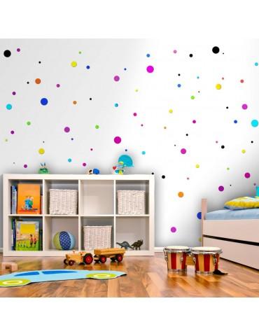 Papier peint - Colored Dots A1-WSR10m711-P
