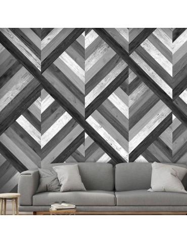 Papier peint - Grey Maze A1-WSR10m823