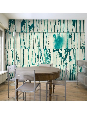 Papier peint - Turquoise Rivers A1-WSR10m835