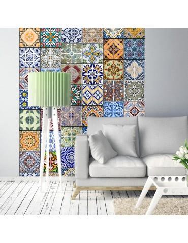 Papier peint - Mosaïque colorée A1-WSR10m762-P