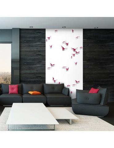 Papier peint - Red Birds A1-WSR10m693