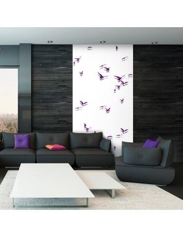 Papier peint - Purple Birds A1-WSR10m694