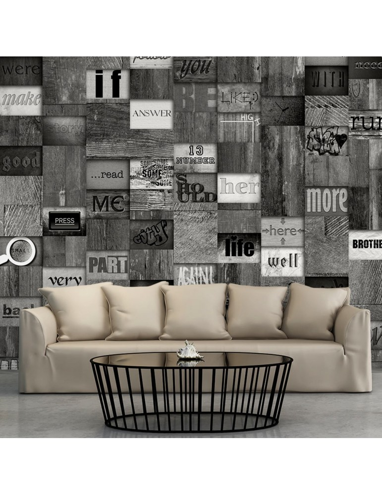 Papier peint - Mosaic of Words A1-WSR10m752