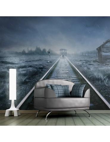 Papier peint - Le train fantôme A1-LFTNT0802