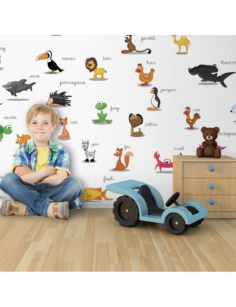 Papier peint XXL - animaux (pour enfants) A1-F5TNT0031-P
