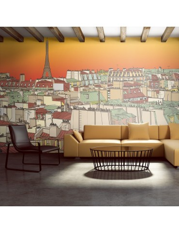 Papier peint XXL - Café du matin à Paris A1-F5TNT0060-P