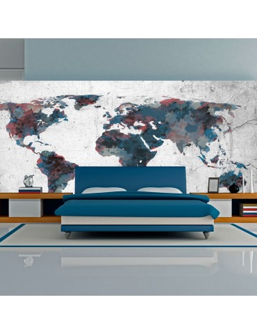 Papier peint XXL - World map on the wall A1-F5TNT0087-P