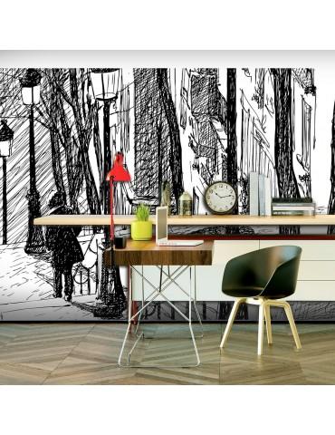 Papier peint XXL - escaliers - Montmartre A1-F5TNT0014-P