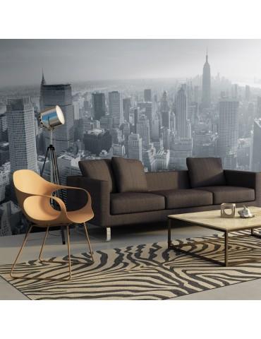 Papier peint XXL - Panorama de New York en noir et blanc A1-F5TNT0016-P