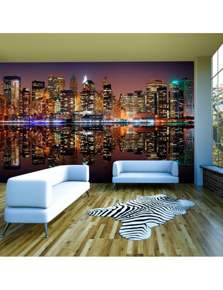 Papier peint XXL - Gold reflections - NYC A1-F5TNT0019-P