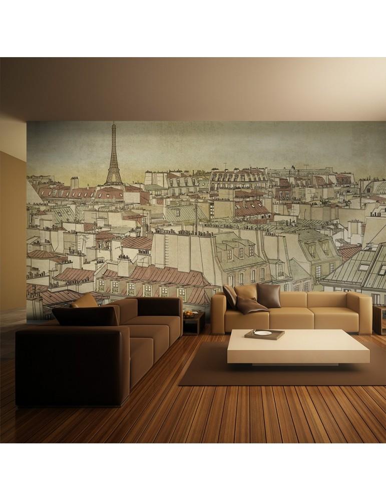 Papier peint XXL - Au revoir Paris ! A1-F5TNT0038-P