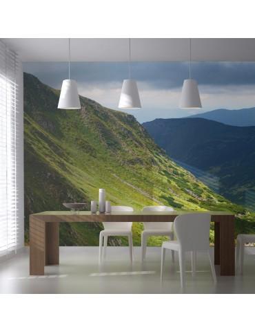 Papier peint XXL - Green mountain landscape A1-F5TNT0004-P