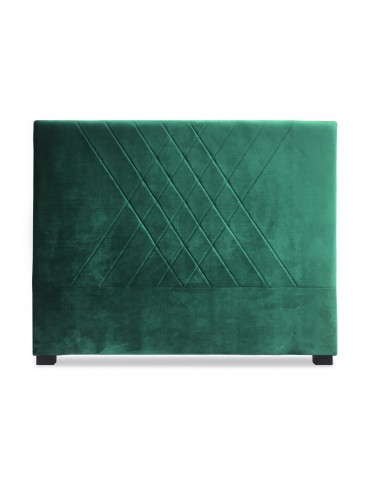 Tête de lit Diam 140cm Velours Vert lf257140vvert