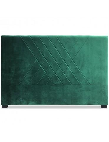 Tête de lit Diam 160cm Velours Vert lf257160vvert
