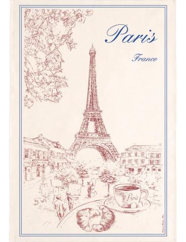 Torchon Tour Eiffel 8491039000Torchons & Bouchons
