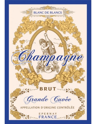 Torchon Champagne 8491201000Torchons & Bouchons