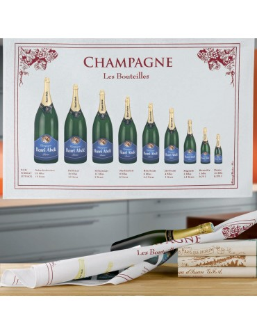 Torchon Bouteille Champagne 8491232000Torchons & Bouchons