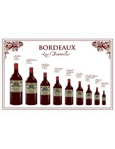 Torchon Bouteille Bordeaux 8491241000Torchons & Bouchons