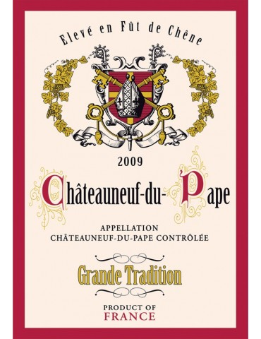 Torchon Chateau Neuf Gde Tradition 8491249000Torchons & Bouchons