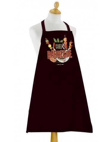 Tablier Barbecue à poche Noir 6209070000Torchons & Bouchons