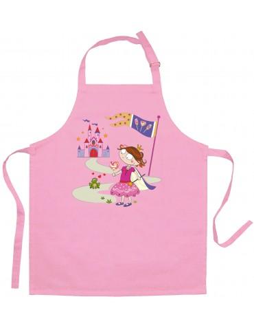 Tablier Enfant Princesse Et Grenouille Rose 8997030000Torchons & Bouchons