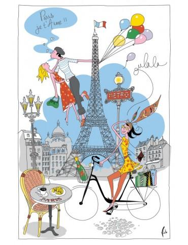 Torchon La Parisienne Blanc 8998070000Torchons & Bouchons