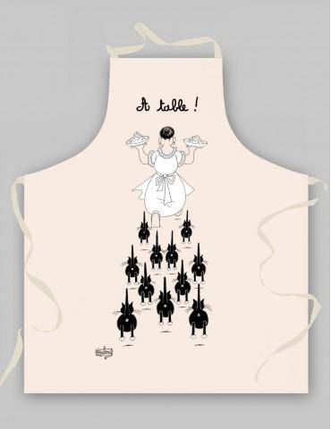 Tablier À table Ecru 9017015000Torchons & Bouchons
