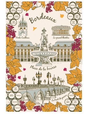Torchon Ville de Bordeaux 3051095000Torchons & Bouchons