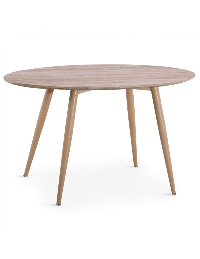 Table ovale scandinave Sissi Chêne m405chene