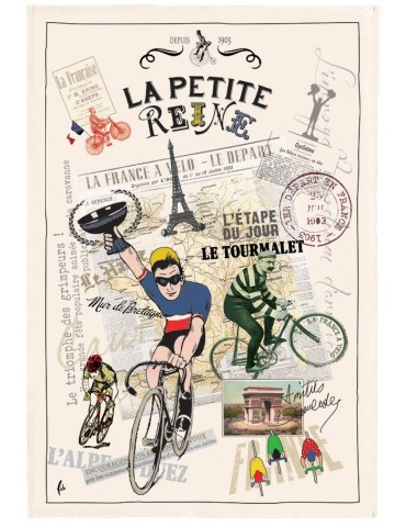 Torchon La Petite Reine Ecru 2183010000Torchons & Bouchons
