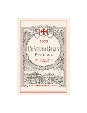 Torchon Imprime Château Gazin Ecru 48 X 72 2114010000Torchons & Bouchons