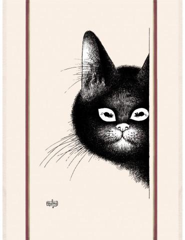 Torchon Dubout chat souris Écru 48 x 72 6541010000Torchons & Bouchons
