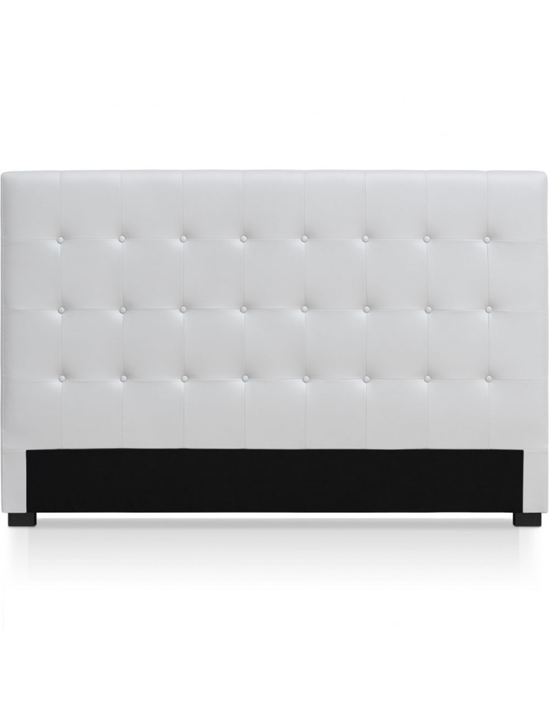 Tête de lit Luxor 180cm Blanc HB180-Blanc