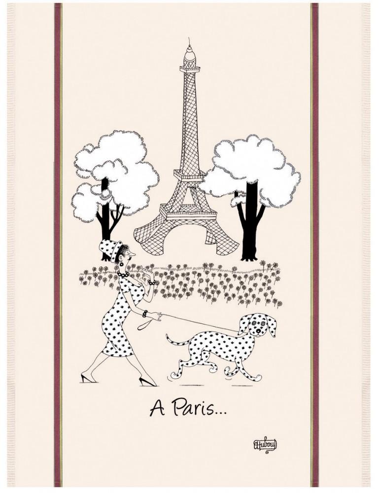 Torchon Dubout Mode de Paris Ecru 60 x 80 4385010000Torchons & Bouchons