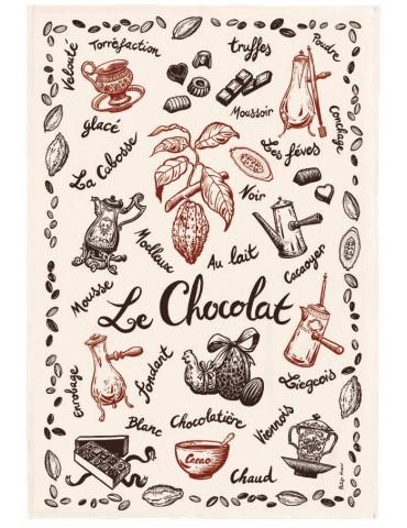 Torchon Le chocolat Ecru 48 x 72 4403010000Torchons & Bouchons