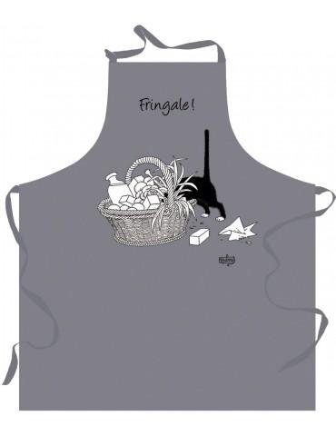 Tablier de cuisine Dubout fringale Gris 72 x 85 4855070000Torchons & Bouchons