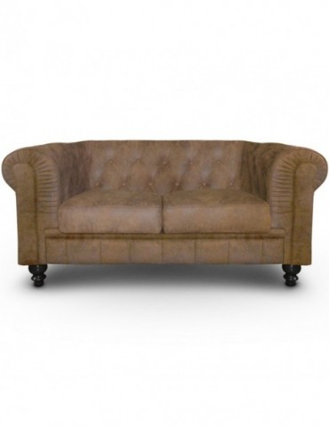 Canapé 2 places Chesterfield Vintage a6052vintage
