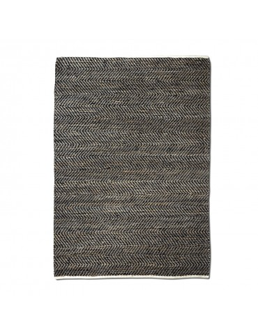 Tapis Stables Charbon 120 X 180 1037000089The Rug Republic