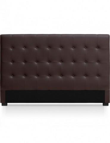 Tête de lit Luxor 180cm Marron HB180-Marron Foncé
